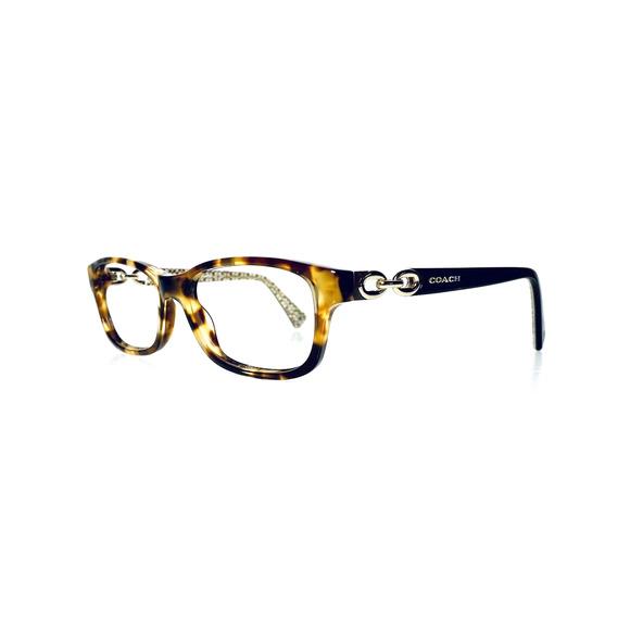 VTG Coach Tortoise Rectangular Glasses